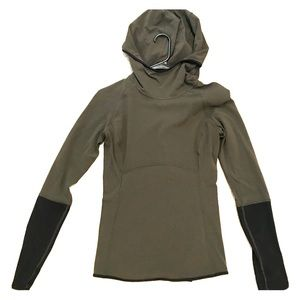 Lululemon Two-Toned Hooded Pullover